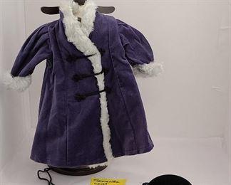 Samantha's Holiday Coat  Hat and Gloves 2004-08