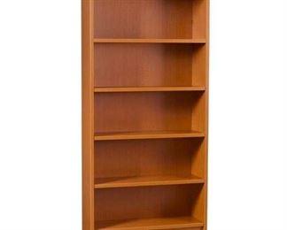 "Halton 72"" Bookcase In Fruitwood"