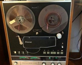This is a Sansui reel-to-reel and it's worth A LOT