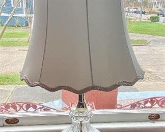"""4.Pair of lamps 35""""H$75"""