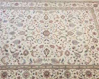 Clean Vintage Hand Knotted Persian Rug  - 11x16' - Professionally cleaned and delivered directly to me for auction .