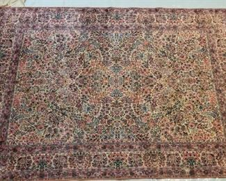 Early 20th Century Karastan Rug 8x12' - Great Condition. Professionally cleaned and delivered directly to me for auction .