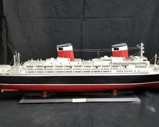 """40"""" Handpainted and assembled model ship"""