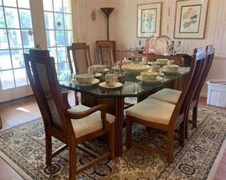 Burlington House dining set