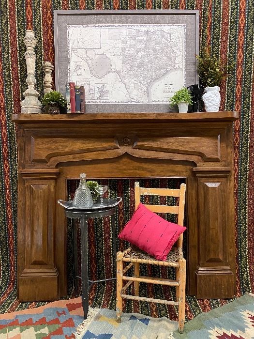 Antique fireplace mantel circa 1870                               Click on the link to Capitol Sales Services Hibid page to register and to place bids on items as presented in the catalog.  .........To Register and To Bid go to   https://capitolsalesservices.hibid.com