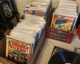 Comics and LP's