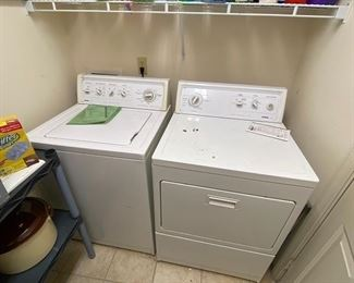Kenmore 80 Series Washer and Kenmore Series 90 Dryer