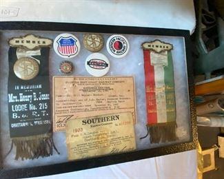 Vintage Southern Railway Items