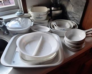 Huge Corning Ware collection