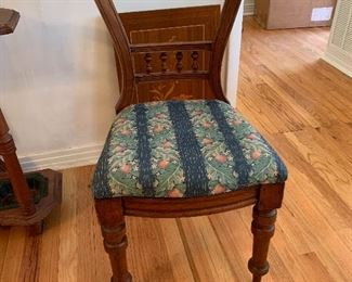 #15Antique side chair $75.00