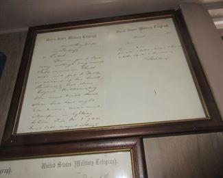 Civil War supply list