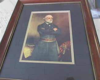 Framed picture of Grant