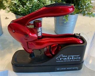 Lot 5567. $22.00 The Original Rabbit Wine Tool Kit Opener