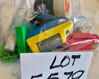 Lot 5579. $10.00. Hasbro Cool Tools, Nacho & Dog, Magic Case, Santa Spotter, Nail Clipper and Keys, Bear Game, Topps Toy, chuck e. cheese, box Game, bugs bunny, airplane, sand timer and fiki