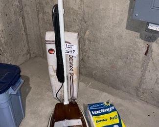 Lot 5647. $25.00. Eureka Vacuum Cleaner plus Bags
