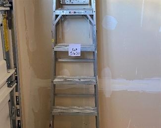 Lot 5630  $24.00  Werner 6 Ft. Aluminum Ladder Model 366