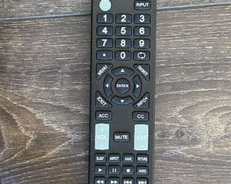 """Lot 5639  $125.00 Insignia 42"""" HDTV with Remote and Hanging Bracket on Rear of TV"""