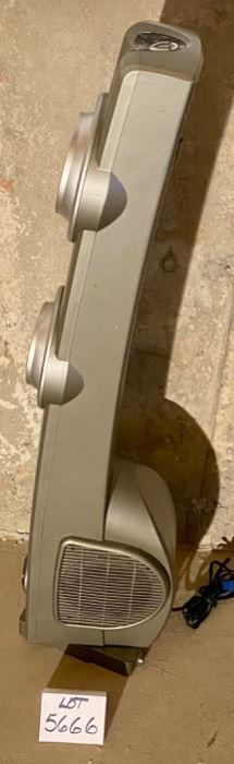 "Lot 5666  $30.00  Lasko Portable Electric Model 4421 39"" H Oscillating Tower Fan, No Remote39"" H"
