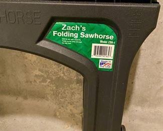 Lot 5668  $18.00  (3) Zach's Folding Saw Horses Model 25H-1