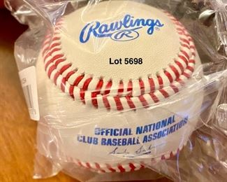 Lot 5698. $30.00  New in Box 12 Rawling Baseballs, Official National Baseball Club Association