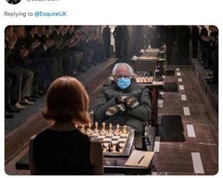 Bernie at Queens Gambit-Check Mate