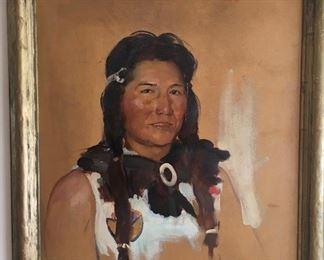 Portrait by Paul Carey (1904-2001)