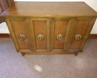 Bedroom Right  Excellent Sideboard:  Pulls out to a table with 8 leafs