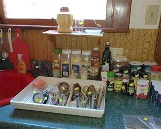 Kitchen:  Spices
