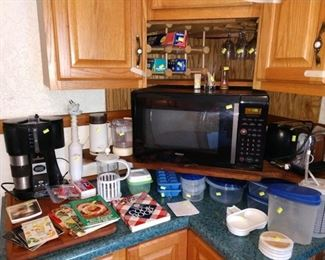 Kitchen:  Coffee Maker, Microwave, Other Kitchen Stuff