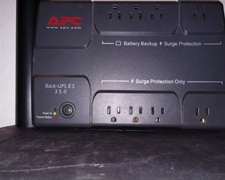 Office Bedroom,  Right Back   Apc 350  Battery Backup