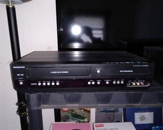 Office Bedroom, Right Back   Magnavox DVD-VHS ZV427MG9