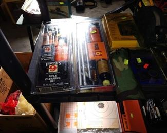 Basement/Garage  Gun Cleaning Kits