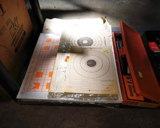 Basement/Garage  Gun Targets