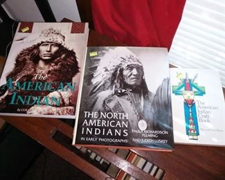 Living Room:  American Indian Books