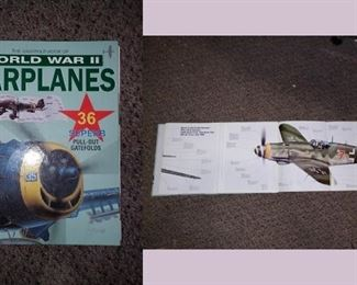 Living Room: World War II Warplanes Book  5 page pullouts
