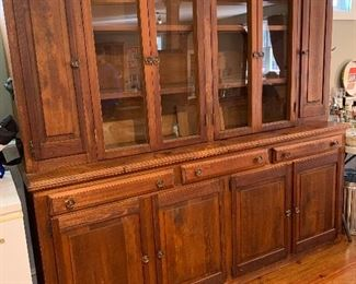 Large Wooden Display Cabinet (1 Piece)