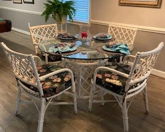 Rattan Dining Set