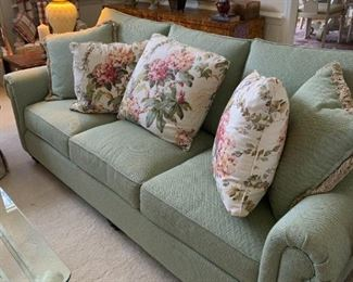 Side Tables and Lamps have Sold. Bassett Sofa still available:)