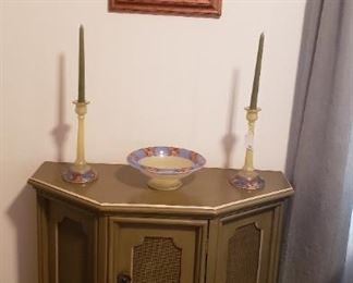 half moon cabinet, accessories