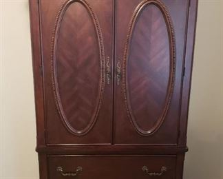 cabinet in beautiful wood