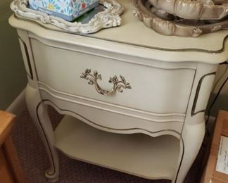 French Provincial night stand (2)