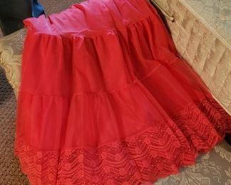 red ladies slip