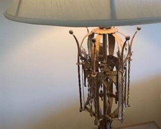 Rare Mid-Century Modern Fredrick Cooper Italian Gilt Lamps