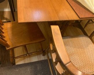Vintage Table / Chairs