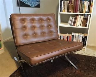 Barcelona chair made by the charlton furniture company