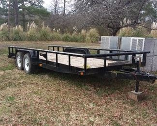 Big Tex  trailer. 20ft by 7 ft. For car hauling.