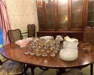 Royal Worcester Evesham Glasses