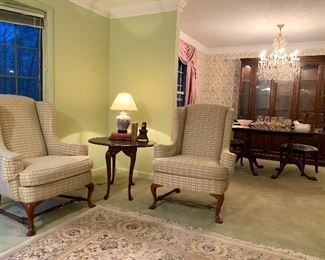 2nd Pair of Wingback Chairs