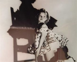 Shirley Temple Print 11x14