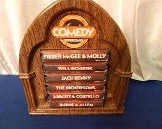 "Vintage Comedy Cassettes ""Burns & Allen"", Abbot & Costello & More"
